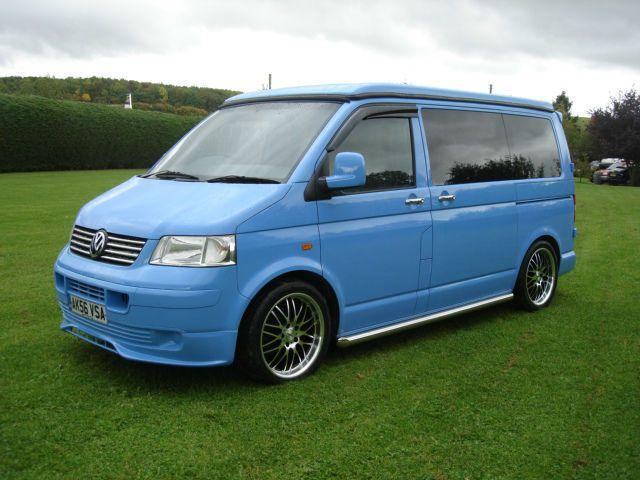 2006 56 Volkswagen Transporter T5 102 Tdi Swb Camper, 1 Owner, 74000 Miles !! | eBay