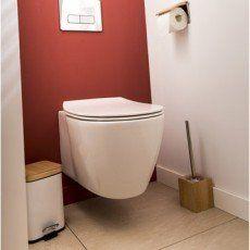 Pack WC suspendu bâti sol, IDEAL STANDARD Idealsmart aquablade