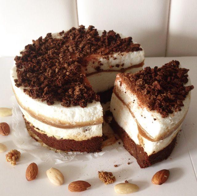 Recept: Brownie & Tiramisu Cheesecake