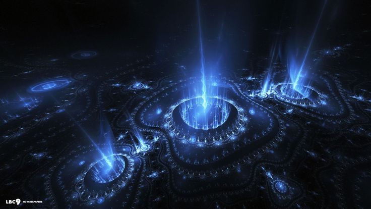 awesome Circle Fractal HD Picture Neon wallpaper, Spring