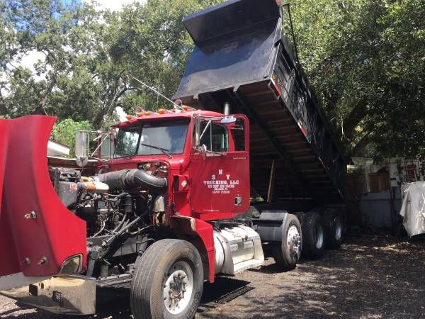 dump truck (Tampa fl) $32500: QR Code Link to This Post I have a 1995 Peterbilt 377 dump truck for sale the truck is in very good condition…