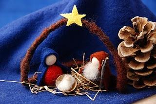 Krippe Draht: Crafts Group, Christmas Countdown, Center Christmas, Met Kinderencraft, Handwerken Met, Poppen Severin, Christmas Jesus, Felt Native, Holidays Christmas