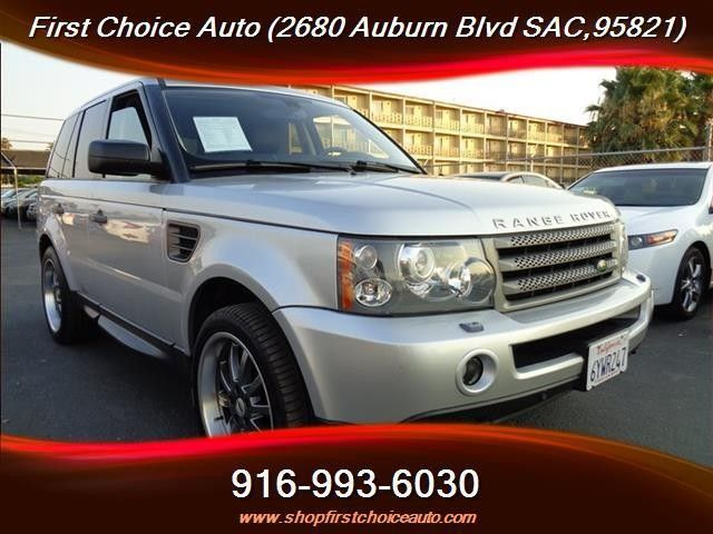 HellaBargain 2006 Land Rover Range Rover Sport HSE 4dr SUV 4WD Automatic 6-Speed First Choice Auto Sales Sacramento  #LandRover #HellaBargain @HellaBargain