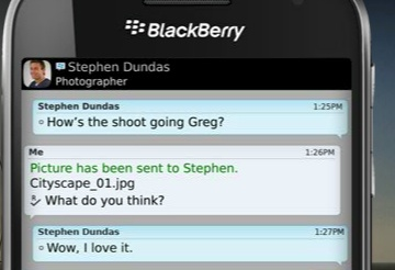 """on my """"wants"""" list.  the new blackberry touch screen."""