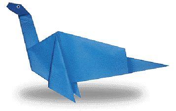 Origami Plesiosaurus