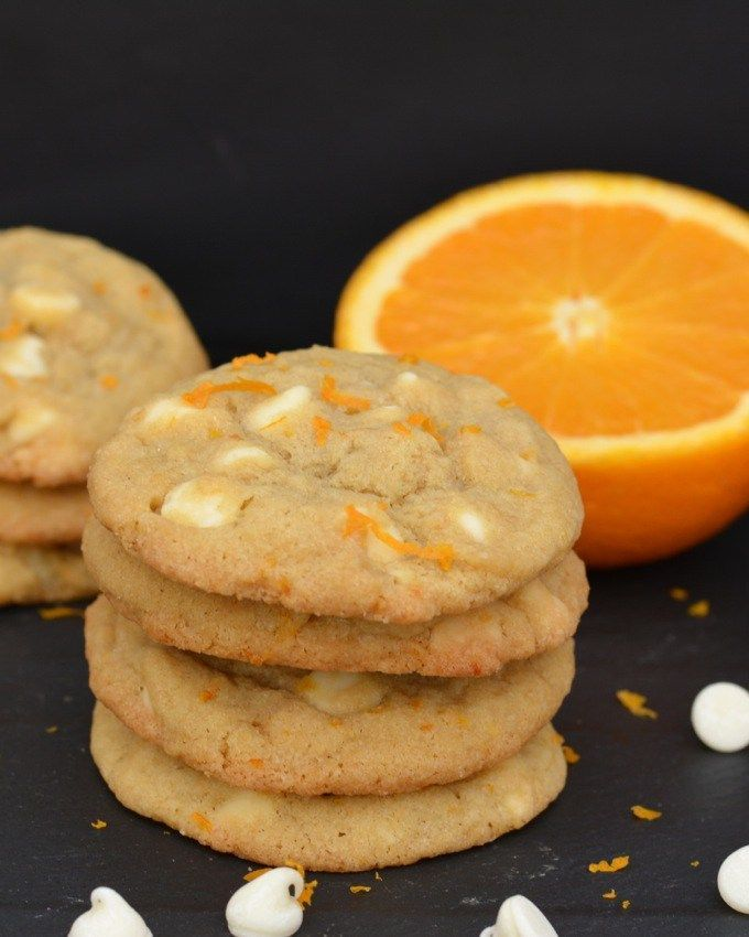 White chocolate chips and fresh orange zest stud these unique Orange Creamsicle Cookies!