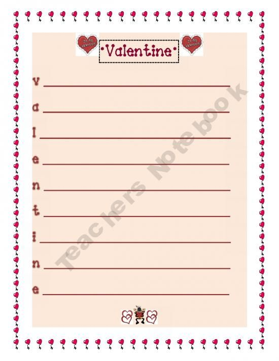 valentine's day 5th grade activities