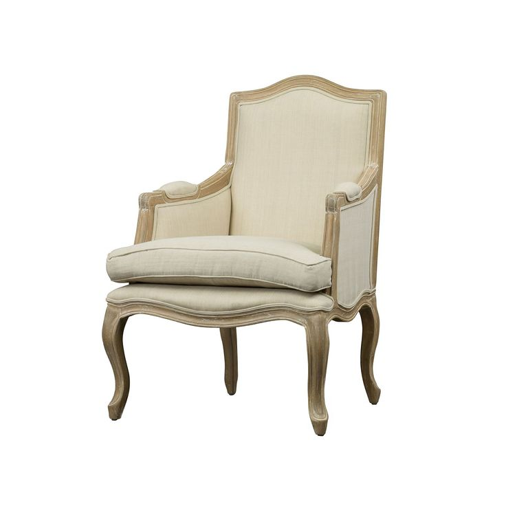 Multicolor Accent Chair From Fixer Upper: Baxton Studio Nivernais French Accent Chair, Multicolor