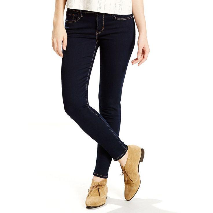 Women's Levi's® 710 Super Skinny Jeans, Size: 30(Us 10)L, Dark Blue