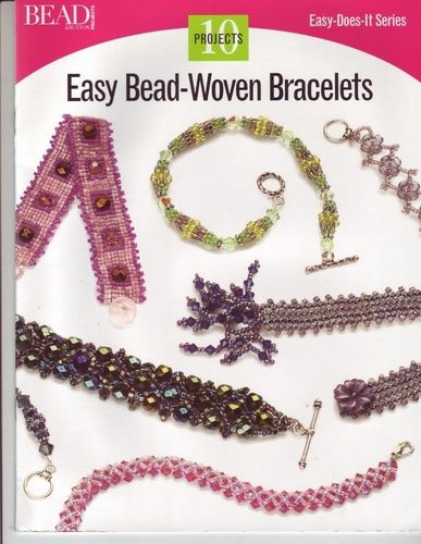 Easy Does-It Series-EasyBead-Woven bracelets - Maica Dos - Picasa Web Albums
