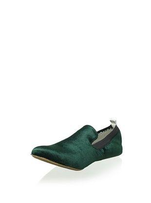 Yosi Samra Women's Ariel Velvet Loafer