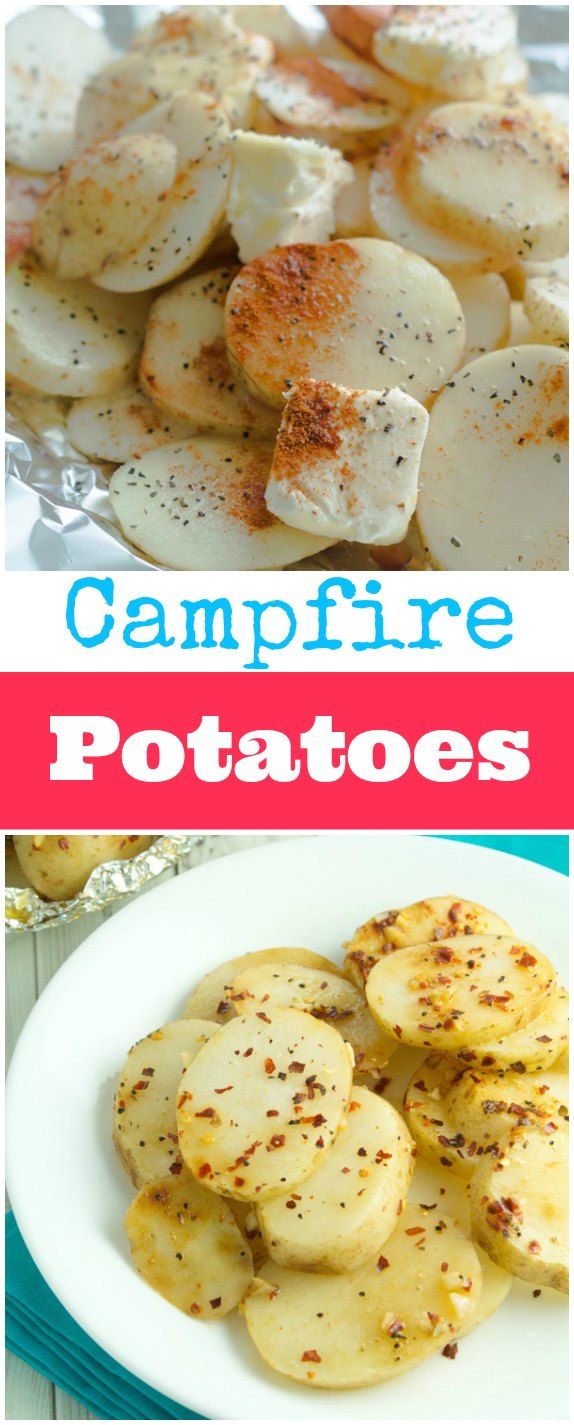 Amazing campfire potatoes recipe that are so easy to put together. You'll be making them all summer long!