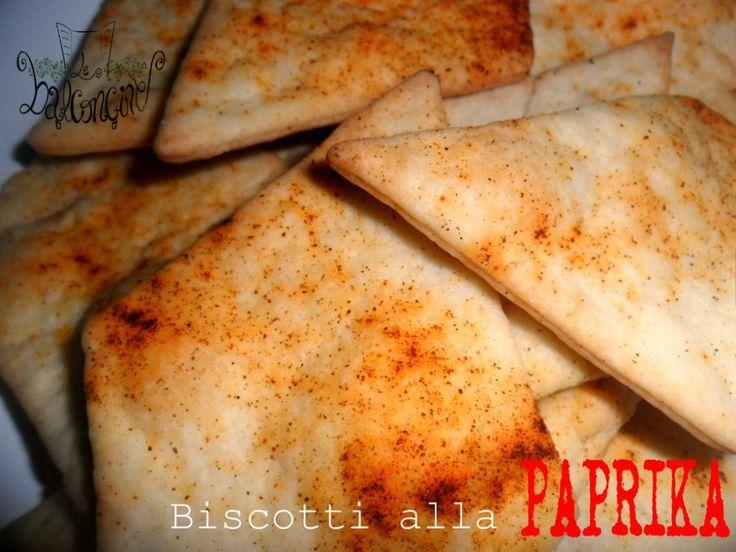 Biscotti alla paprika