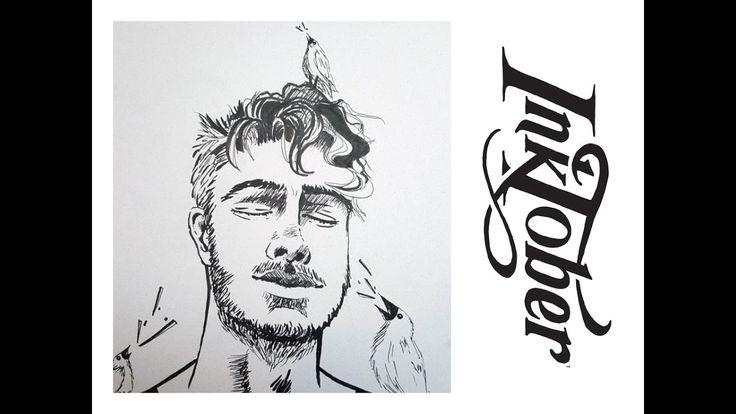INKTOBER 2016 #2: NOISY    Youtube   Matilda Fryxell   Art  https://www.youtube.com/channel/UCE98xyWOGdPO6Z7z1QkOgjA