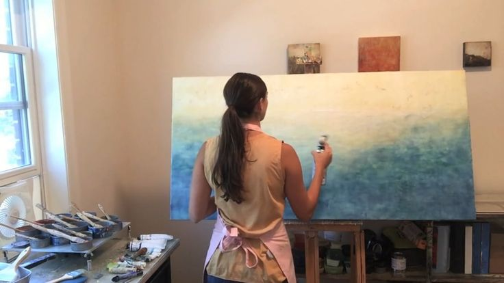 Encaustic Painting Process by Kari Hall – Full Length Version