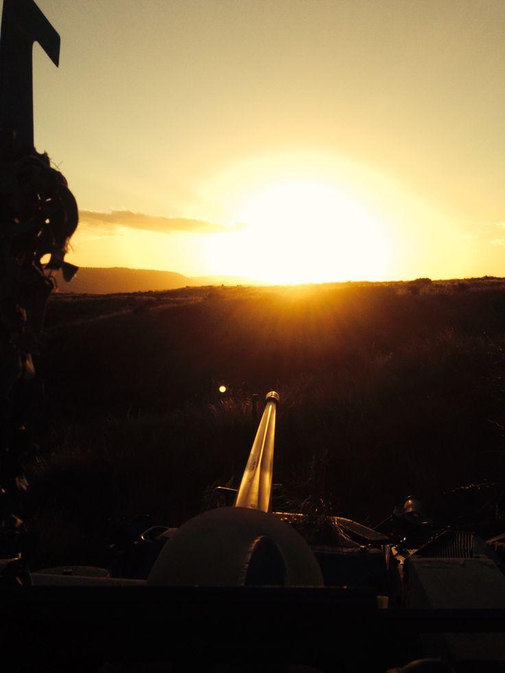 LAV 3 Armour Armoured  Outdoors Waiouru Sunset