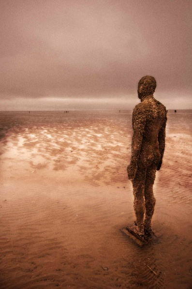 Antony Gormley's Another Place  Crosby Beach