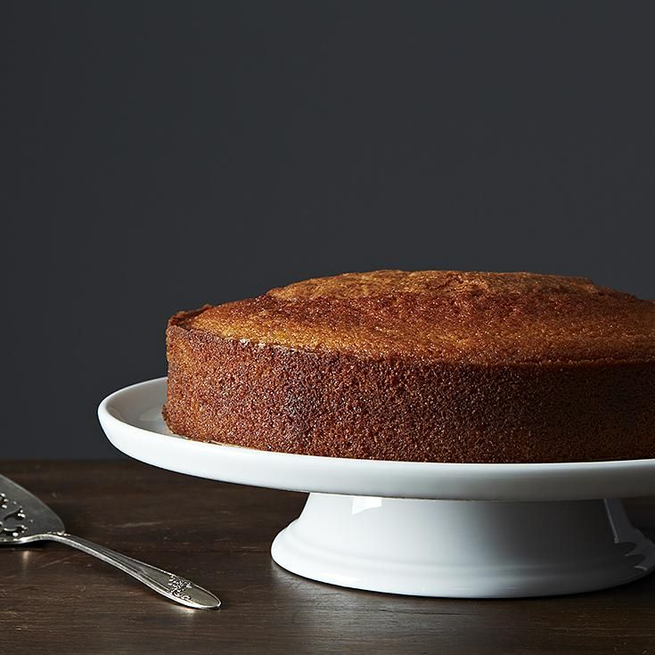 Maialino's Olive Oil Cake recipe: If it were any more moist it'd be pudding. #Food52