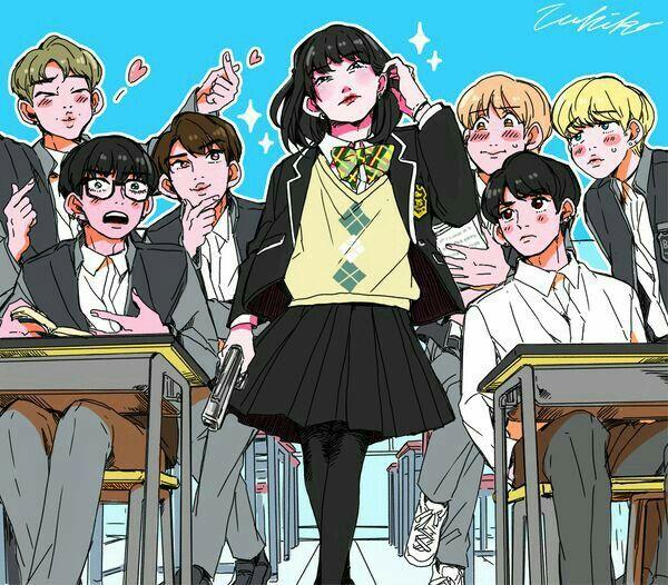 Spring Anime 2019 Hd: BTS, Bts Chibi Ve
