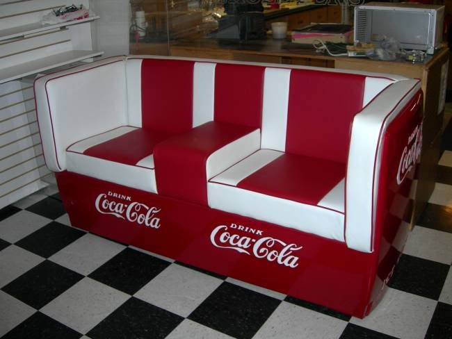 Coke couch coca cola pinterest for Coole couch