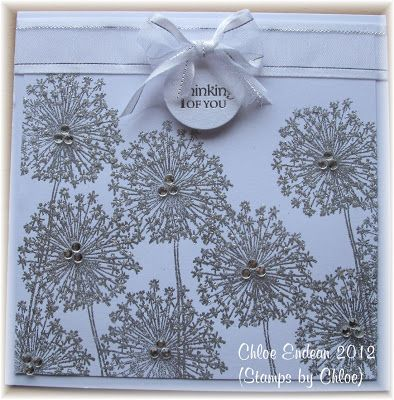 Stamps by Chloe: Dandelion