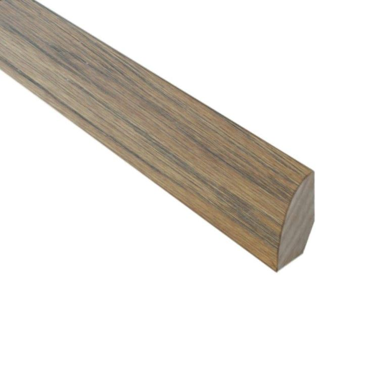 Burnished Straw 3/4 in. Thick x 3/4 in. Wide x 78 in. Length Hardwood Quarter Round Molding