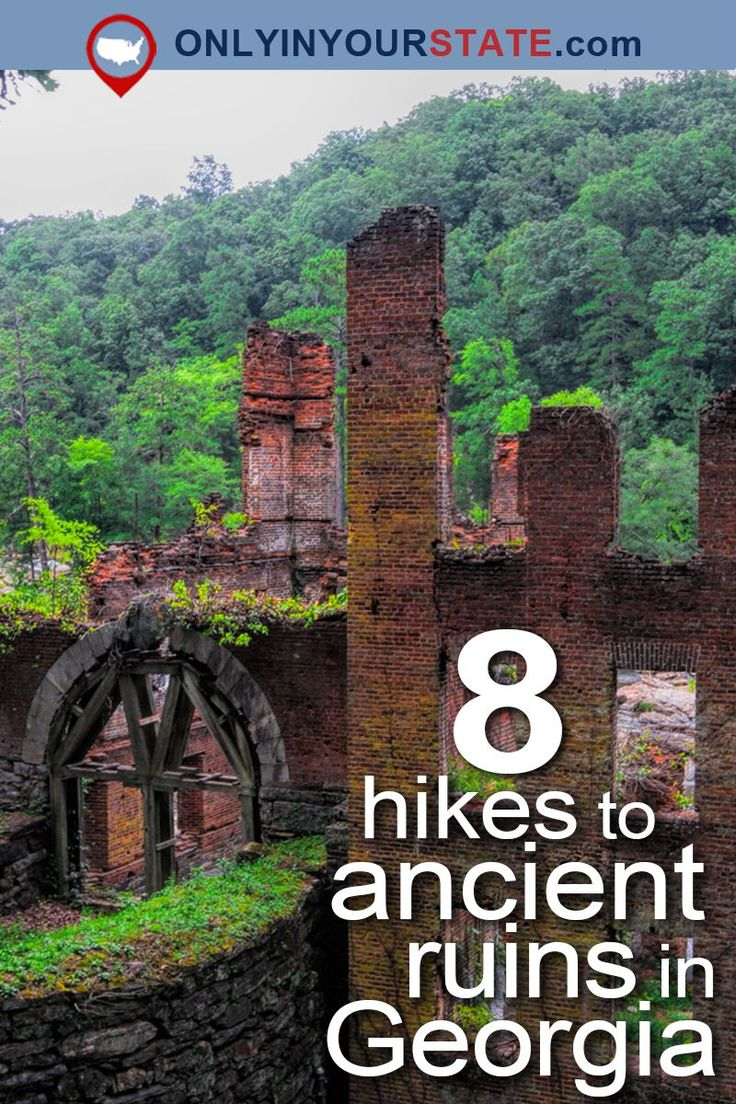 Travel | Georgia | Hikes | Hiking | The Outdoors | Ruins | Ancient Ruins | Abandoned Places | Nature | Places To Visit | Best Hikes | USA
