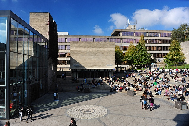 Loved hanging out here! The Square, University of East Anglia by Writers' Centre Norwich, via Flickr