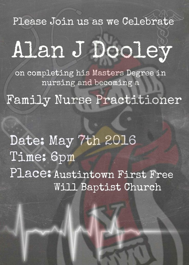 nurse practitioner cover letter%0A Pic monkey com graduation invite  Pic MonkeyNurse PractitionerInviteGraduationDinnerMoving  On