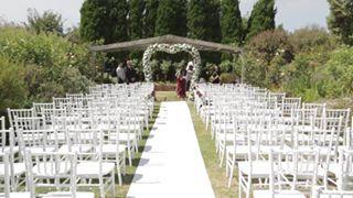 Floral Archway Location : Sunken Garden at Morning Star Estate