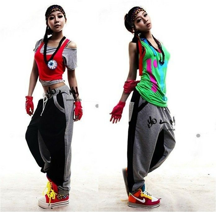 Hip hop dance costume bomb it 39 s all about how you look for Hip hop outfit damen