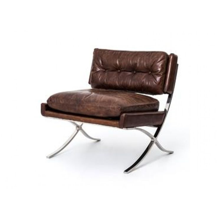 Carnegie Heathrow Lounge Chair-Cigar