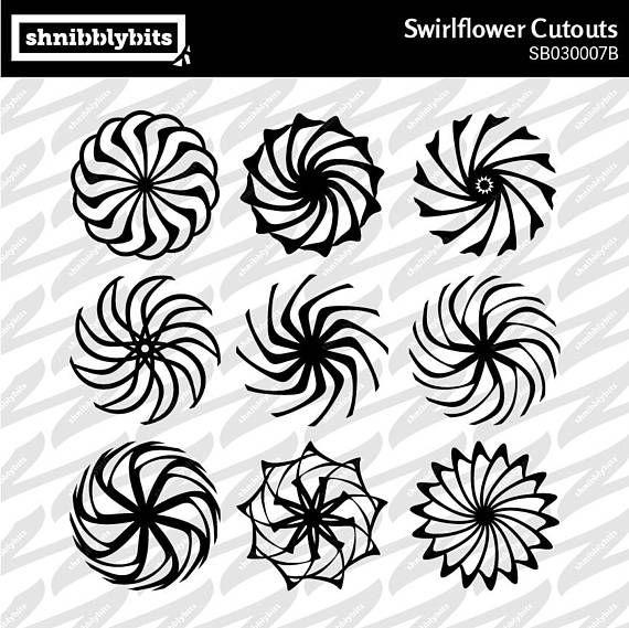 Swirlflower Cutouts