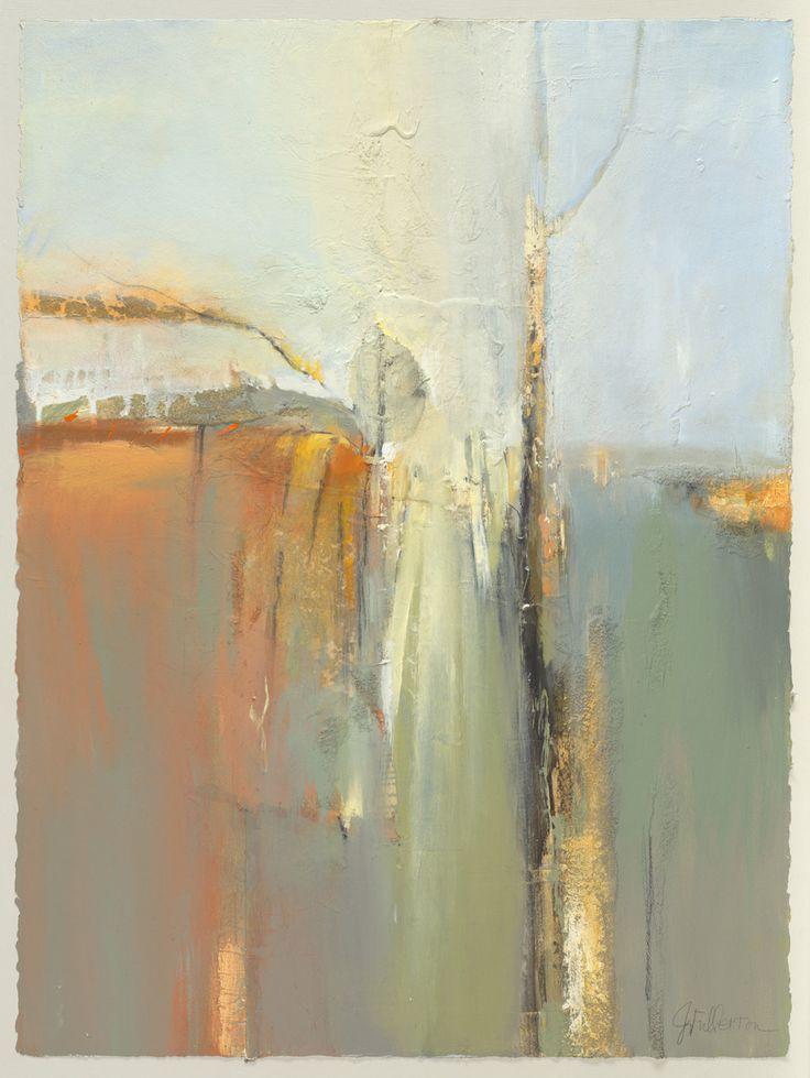 """Contemporary Mixed Media – """"Stillness"""" (Original Art from Joan Fullerton)"""