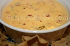 Ro-Tel Famous Queso Dip with Beefy, Sausage, Spinach and Bacon and Chili Cheese Variations