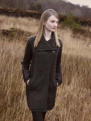 Single Button Plated Merino Wool Coat - Lee Valley