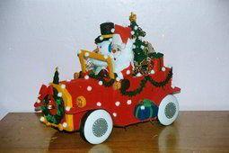 Carro de Santa Claus bucilla