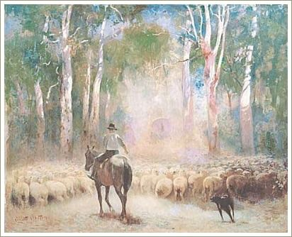 """Clancy Of The Overflow. A Poem By A B """"Banjo"""" Paterson"""