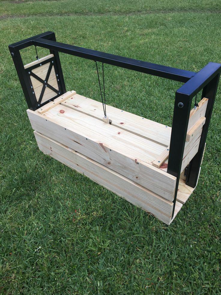 Armadillo trap armadillo trap outdoor decor porch swing