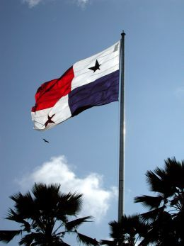 Panama Canal Cruises - Panama Flag