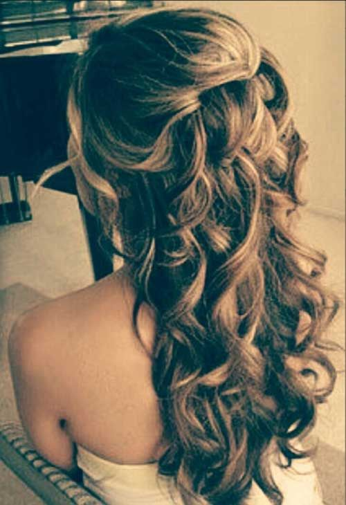prom hairstyles curly hair