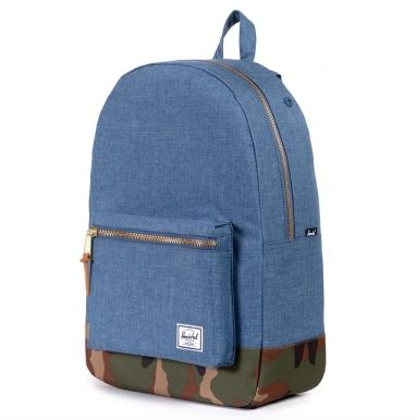 Herschel rugzak Settlement navy/woodland camo  SHOP ONLINE: http://www.purelifestyle.be/shop/view/technology/macbook-tassen-rugzakken/herschel-rugzak-settlement-navy-woodland-camo