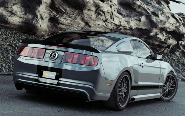 Germany's Reifen Koch tunes the Ford Mustang