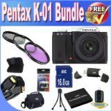 In which Can You Purchase Pentax K-01 16MP APS-C CMOS Compact System Digicam With eighteen-55mm and 55-200mm Lens (Black) + Prolonged Lifestyle Battery + 16GB SDHC Course ten Memory Card + USB Card Reader + Memory Card Wallet + Deluxe Case w/Strap + Shock Evidence Deluxe Scenario + Mini HDMI to HDMI Cable + 3 Piece Expert Filter Package + Accessory Saver Bundle! Critiques - http://buyingmanual.com/in-which-can-you-purchase-pentax-k-01-16mp-aps-c-cmos-compact-system-digicam-wi