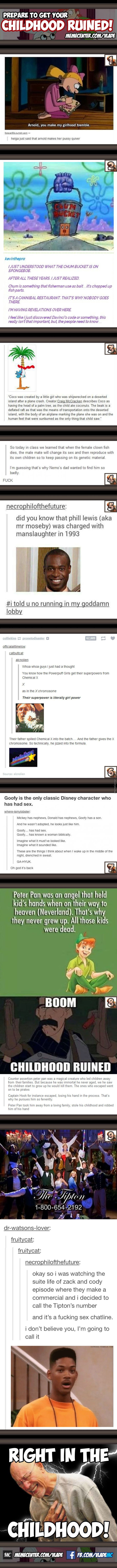 Boom... right in the childhood. Ouch.