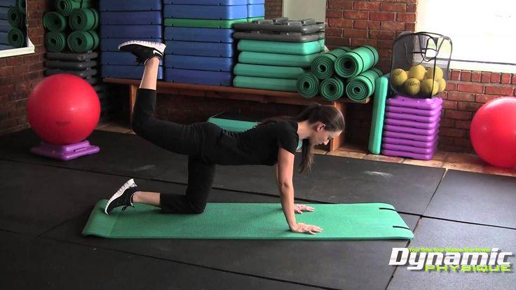 Donkey Kicks Exercise & Workout - Do it Properly - Tucson Personal Trainer