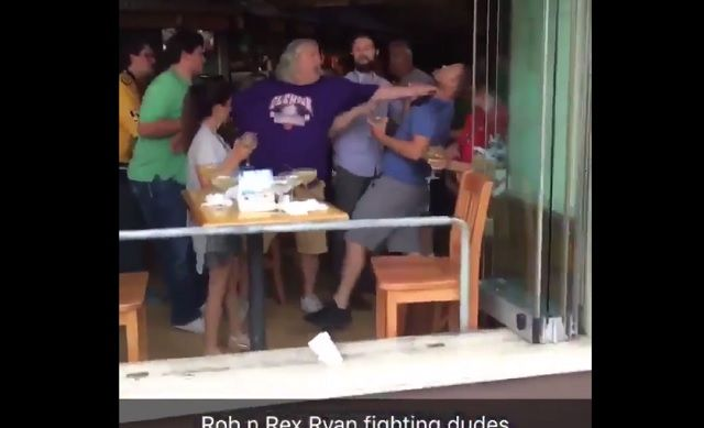 Video Emerges Of Rob And Rex Ryan Getting Into Bar Brawl In Nashville