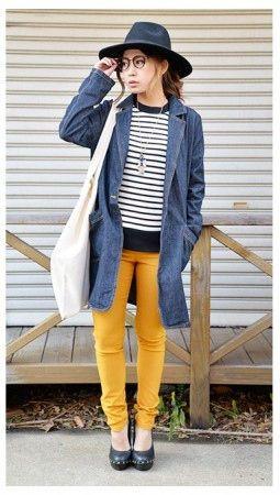 この春取り入れたいカジュアルなデニムコートコーデ♪春のファッション アイテム デニムコート コーデを集めました!