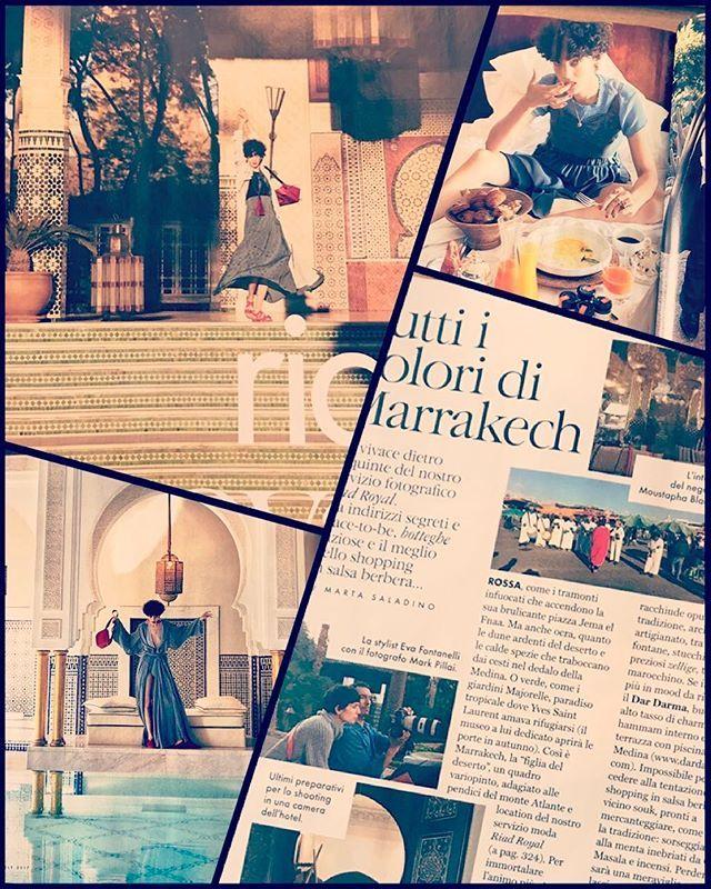 #moodoftheday Riad Royale tutti i colori di #Marrakech Elle di @evageraldine foto @mark_pillai_photography modella @iammarinegaudin ospiti dell'hotel @lamamouniamarrakech  via ELLE ITALIA MAGAZINE OFFICIAL INSTAGRAM - Fashion Campaigns  Haute Couture  Advertising  Editorial Photography  Magazine Cover Designs  Supermodels  Runway Models