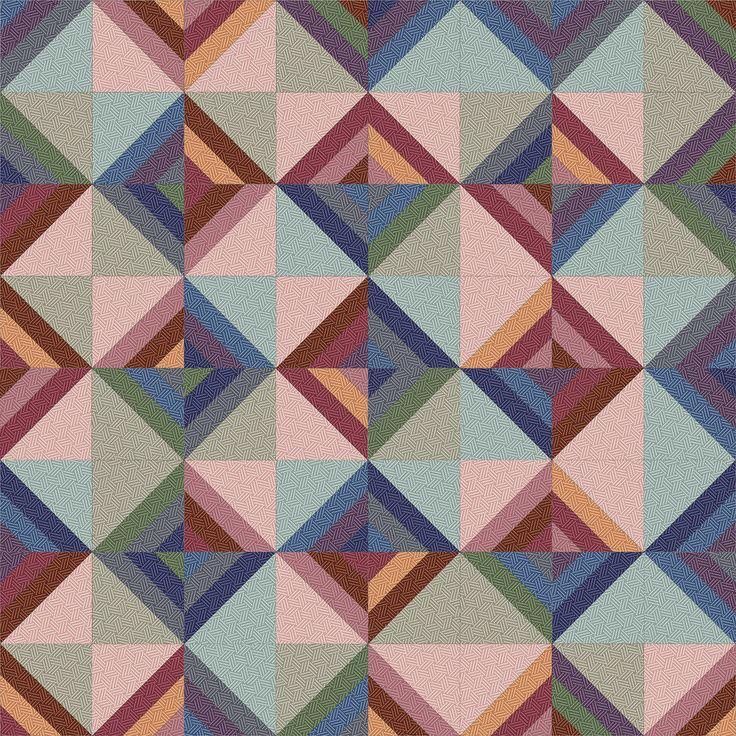 Hadleigh Roman Stripe Quilt idea 8